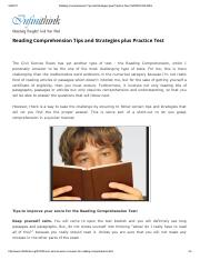 Reading Comprehension Tips and Strategies plus Practice Test _ INFINITHINK.pdf