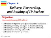 Chap-06 Delivery and Routing of IP Packets