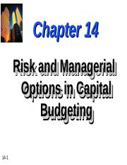 Chapter-14-Risk-and-Managerial-Options-in-Capital-Budgeting.ppt