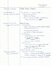 Oceanography Notes Chapter 8