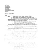 Group project - business law
