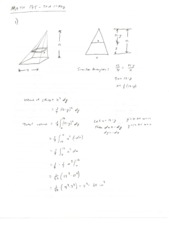 Calculus II Test 1 Solutions