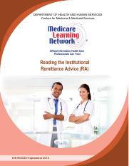 Medicare Institutional Remittance Advice.pdf
