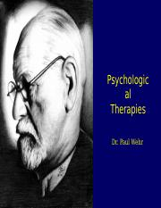 Week11-PsychologicalTherapy.ppt