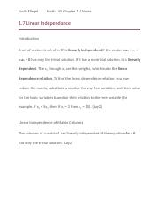 Linear Algebra Chapter 1.7 Notes.docx