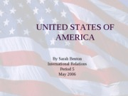 SARAH'S UNITED STATES IR POWERPOINT DO NOT DELETE