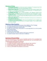 Principles OF Marketing Notes