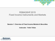 1_rsm430_Overview of the fixed income market