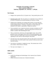 Study Guide Midterm 1 Fall 2015-2