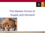 4 Market Forces of Supply and Demand