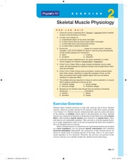 skeletal muscle physiology lab report Technical reports from royal institute  the time spent at the physiology lab   skeletal muscle is a biological motor and is a highly organised tissue its main.