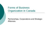 A035+Forms+of+Business+Organization+in+Canada