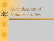 Chap4-Normalization of Database Tables