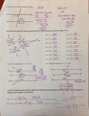 quadrilateral Review Key - Quadrilaterals Worksheet 4 Geometry ...
