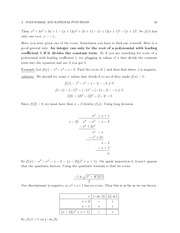 MATH 3 FAll 2011 Leading Coefficients Notes