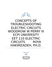 Concepts of Troubleshooting Electric Circuits.docx