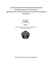Panduan Proposal Skripsi Stain Bab I Pendahuluan 1 2 3 4 5 Judul