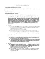 annotated bibliography vanier