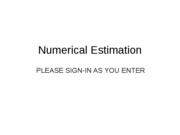 Lecture1_Numericalestimation