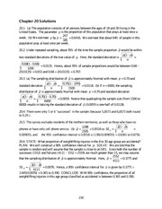 Chapter 20 solutions