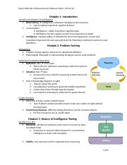 Module 8 - Problem Solving & Intelligence