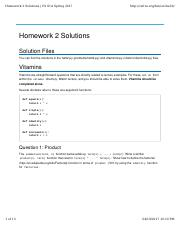 cs61b homework solutions