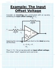 Example The Input Offset Voltage.doc