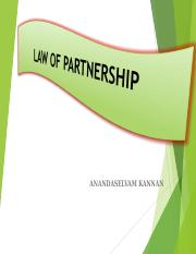 Lecture 7 Partnership Law .ppt