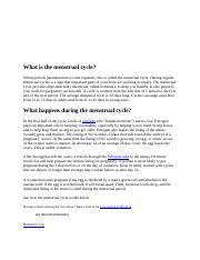 What is the menstrual cycle.docx