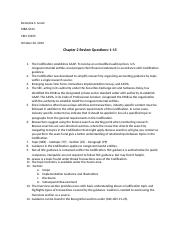 Ch 2 Review Questions MBA 6314