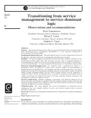 Transitioning from service management to service-dominant logic.pdf