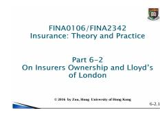 06-02 Lecture Notes insurer ownership