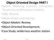 OODesign Lecture PART II
