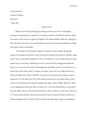 Divorce college essay