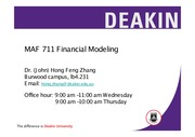 MAF711Lecture4