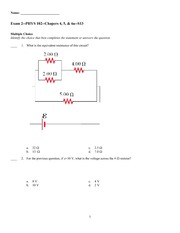 Exam 2 Spring 2013 on General Physics 2