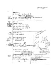 Math 107A Quiz #5 and study guide