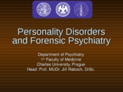 Personality Disorders-1