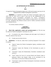 55526755-FIA-ACT-1974 pdf - FEDERAL INVESTIGATION AGENCY ACT