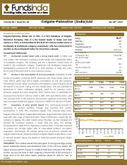 Research-Report-Colgate-Palmolive-IndiaLtd