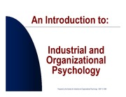Lecture 5. Industrial Organizational_Psychology_-_C