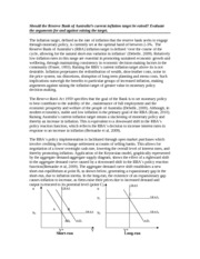 monetary policy study resources 5 pages inflation essay