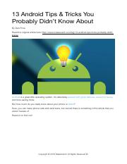 13 Android Tips & Tricks.pdf