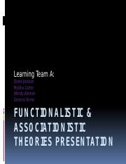 Functionalistic & Associationistic Theories Presentation.pptx