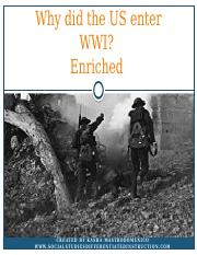 Why did the U.S. enter WWI_ .pptx
