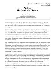 The_Death_of_a_Diabetic.docx