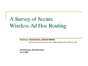 A Survey of Secure