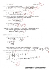 Test 2 & Solutions