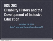 class 9 history and disability 2011