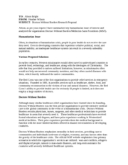 cover letter for doctors without borders